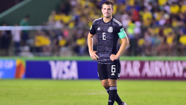 Eugenio Pizzuto, capitán de la Selección Mexicana en Brasil 2019