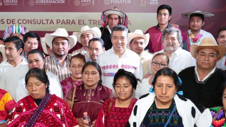 La conferencia sobre la consulta del Tren Maya