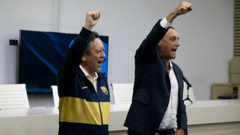 Leopoldo Silva, presentado por la junta directiva