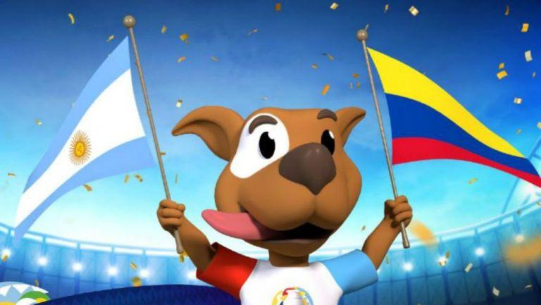 Mascota de Copa América Colombia-Argentina 2020