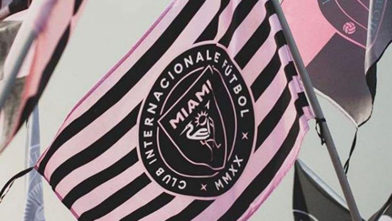 Bandera del Inter Miami CF