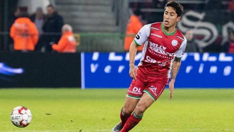 Omar Govea marcó dos goles con el SV Zulte