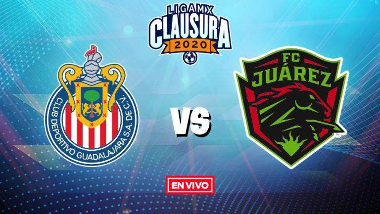 EN VIVO Y EN DIRECTO: Chivas vs Juárez
