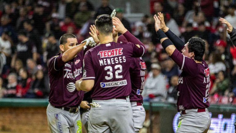 El equipo de Culiacán festeja eufóricamente