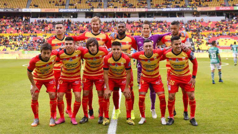Morelia en el partido de la jornada 4 ante León