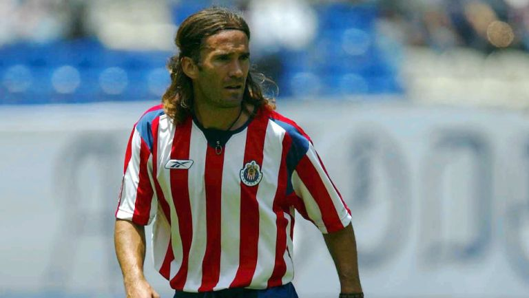 Manuel Sol cuando era jugador de las Chivas