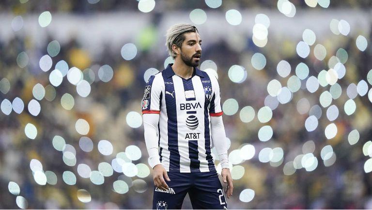 Rodolfo Pizarro se lamenta en juego con Rayados