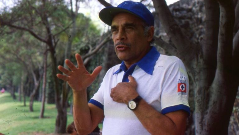 Nacho Trelles como técnico de Cruz Azul