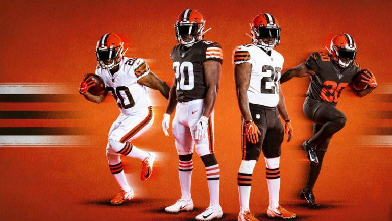 Browns presentó sus uniformes para la próxima temporada