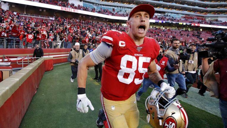 49ers: George Kittle firmó extensión por cinco años y 75 millones de dólares