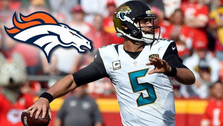 Denver Broncos firmó al quarterback Blake Bortles