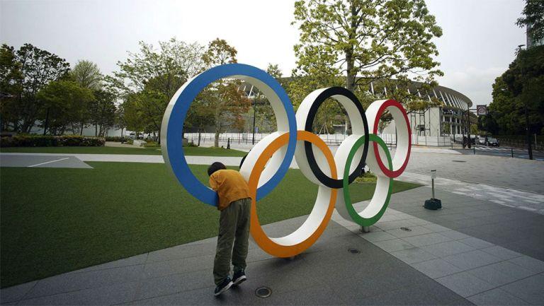 El tradicional símbolo de los Juegos Olímpicos