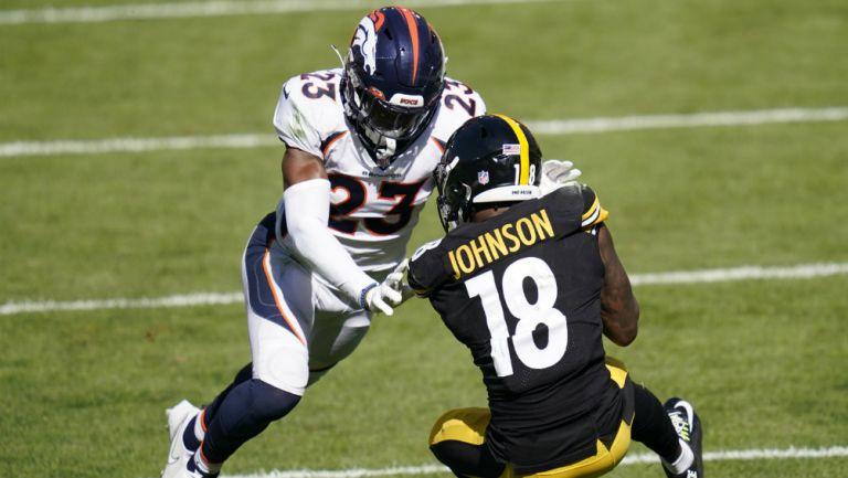 Steelers vs Broncos en partido de la NFL