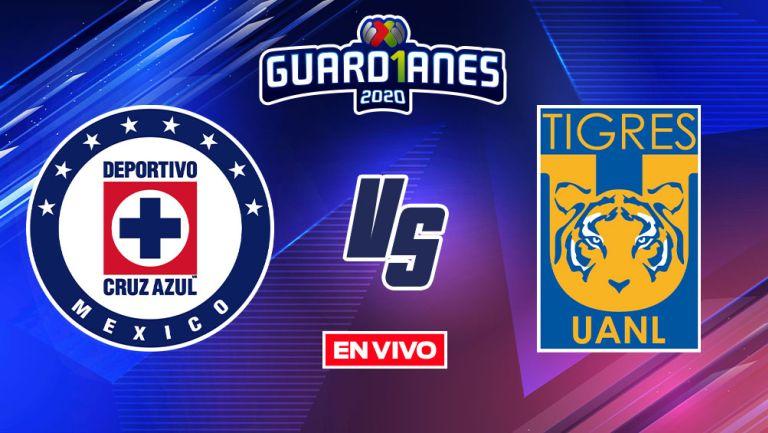 EN VIVO Y EN DIRECTO: Cruz Azul vs Tigres Guardianes 2020 J14