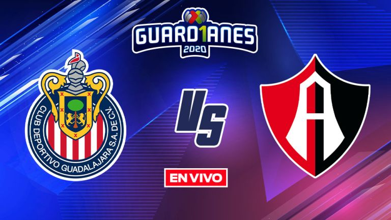 EN VIVO Y EN DIRECTO: Chivas vs Atlas Guardianes 2020 J14