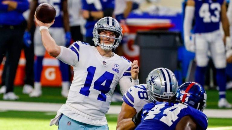 Andy Dalton en juego con Dallas