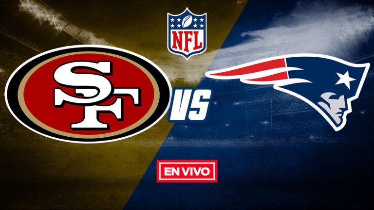 EN VIVO Y EN DIRECTO: 49ers vs Patriots Semana 7