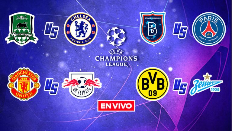 EN VIVO Y EN DIRECTO: Champions League Jornada 2 Fase de Grupos