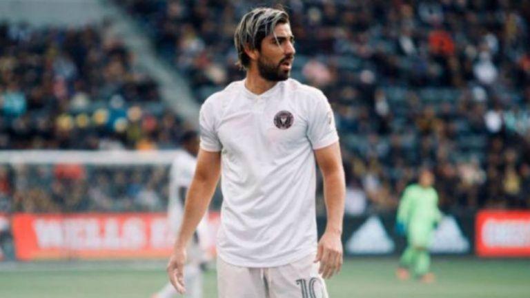 Rodolfo Pizarro en debut con el Inter Miami
