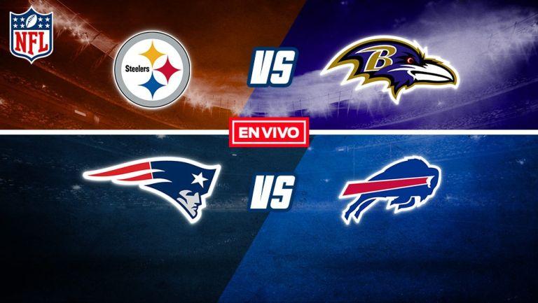 EN VIVO Y EN DIRECTO: Pittsburgh Steelers vs Baltimore Ravens S8