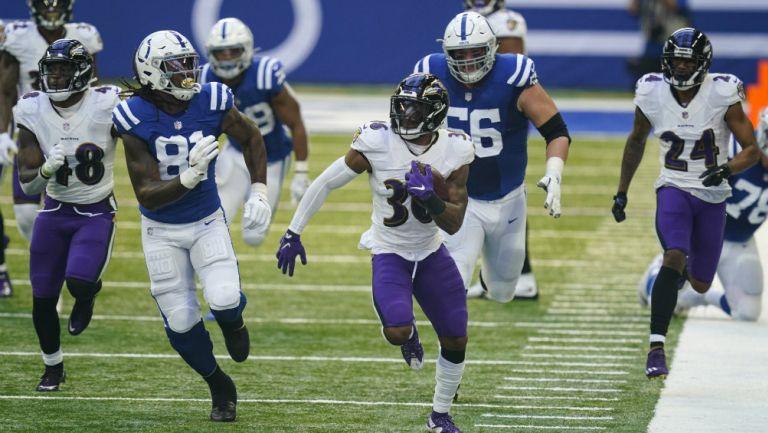 NFL: Baltimore se impuso a Indianapolis con gran labor de su defensiva
