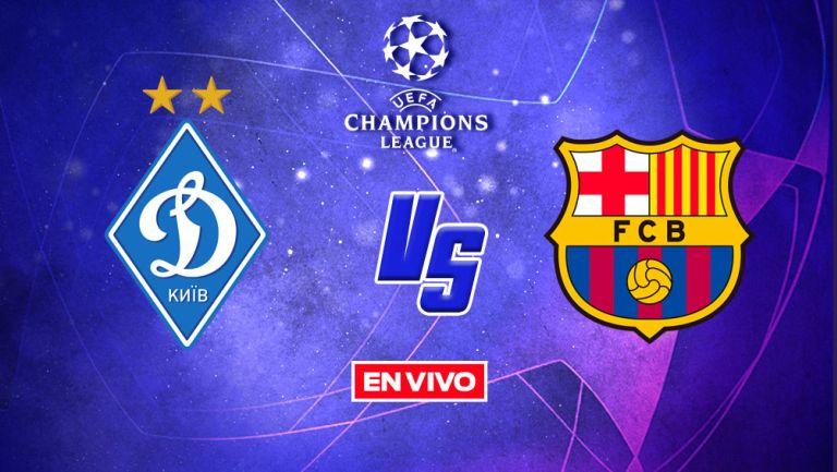 EN VIVO Y EN DIRECTO: Dinamo de Kiev vs Barcelona Fase de Grupos