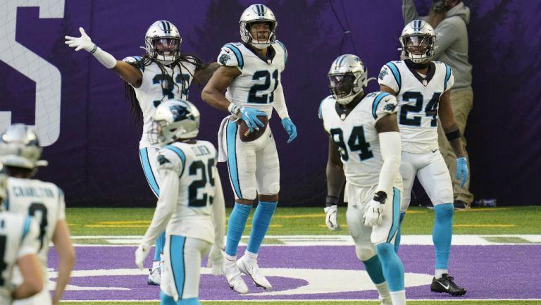 Panthers en partido de la NFL