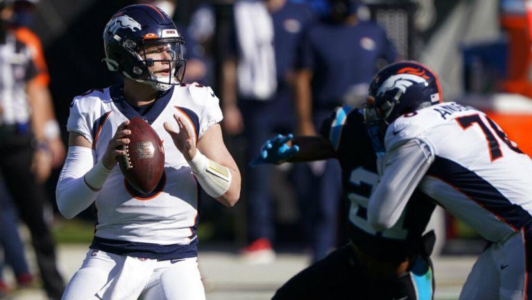 NFL: Denver derrotó a Carolina con destacada actuación de Drew Lock