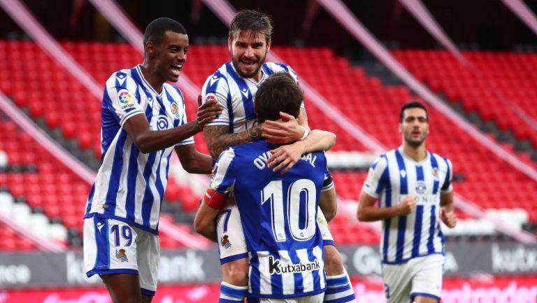 LaLiga Real Sociedad Se Llev U00f3 El Derbi Vasco Tras Vencer