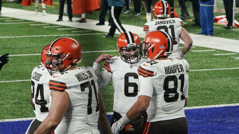 Browns en festejo