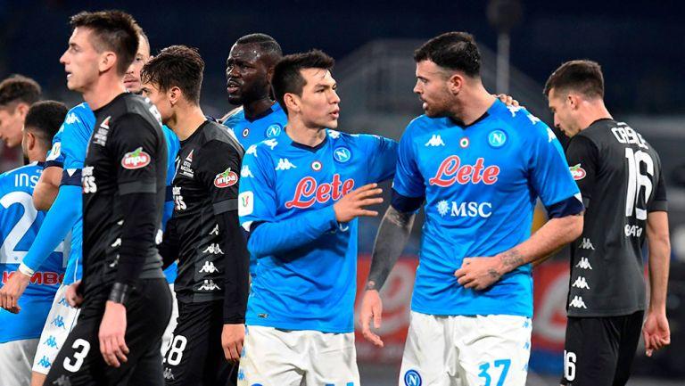 Chucky Lozano: Con gol y asistencia, envió a Napoli a Cuartos de Final de la Copa