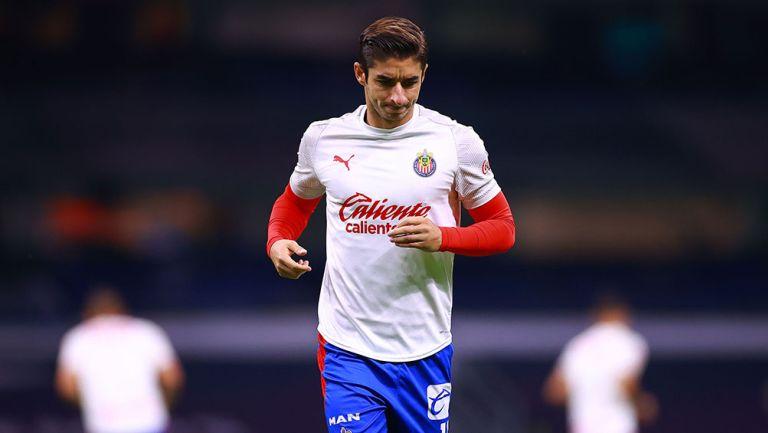 El Conejo Brizuela previo a un partido con Chivas