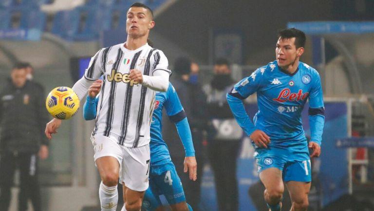 Chucky Lozano en derrota vs Juventus