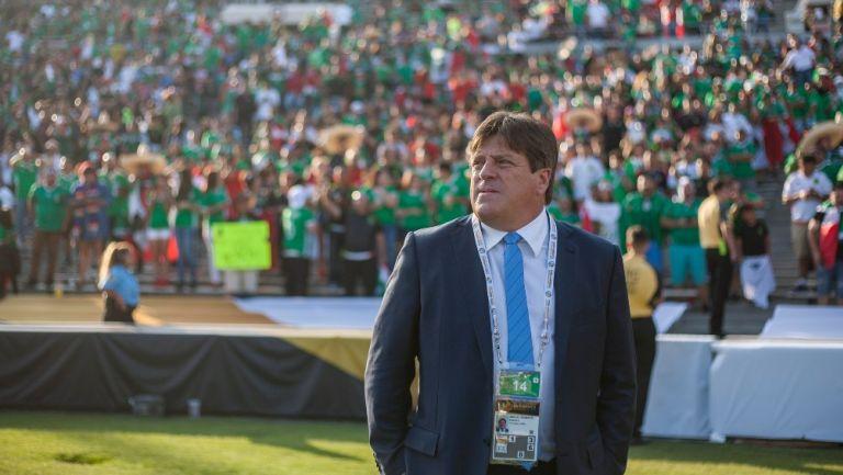 Miguel Herrera en su paso por el Tri