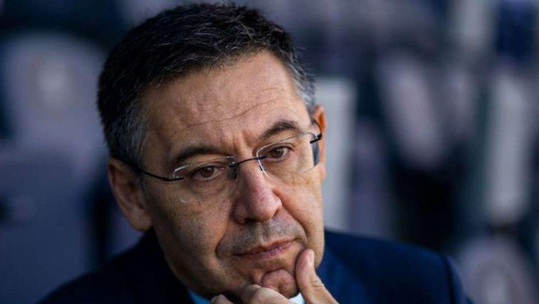 Josep María Bartomeu en presentación