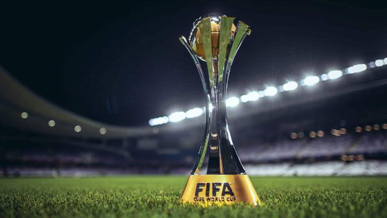 Así luce el trofeo del Mundial de Clubes