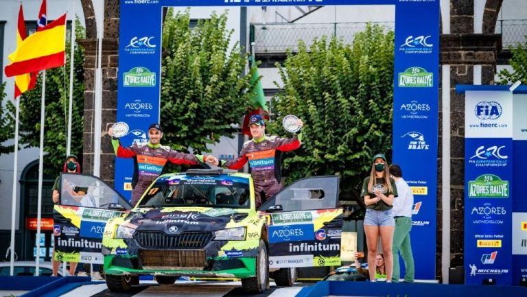 Benito Guerra: Piloto mexicano finalizó octavo en el Rally de Azores