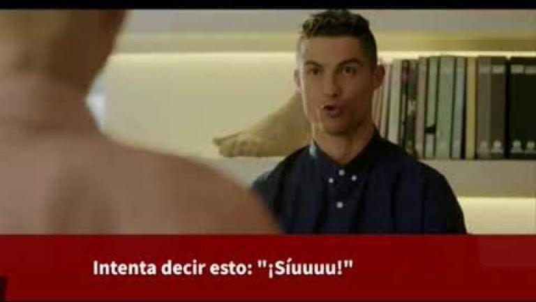 Embedded thumbnail for La divertida charla de un robot con Cristiano Ronaldo